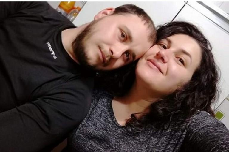 Lo scomparso e la moglie