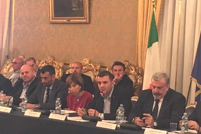 Ministro centinaio a Bari