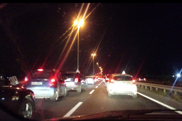 Traffico statale 16