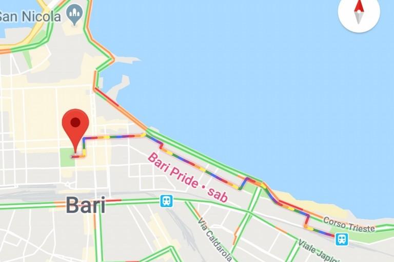 Bari pride Google maps