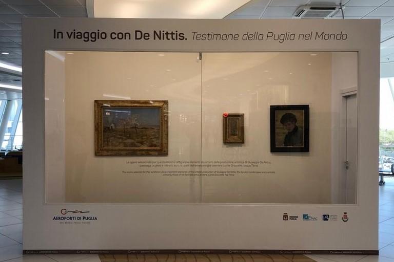 I quadri in mostra