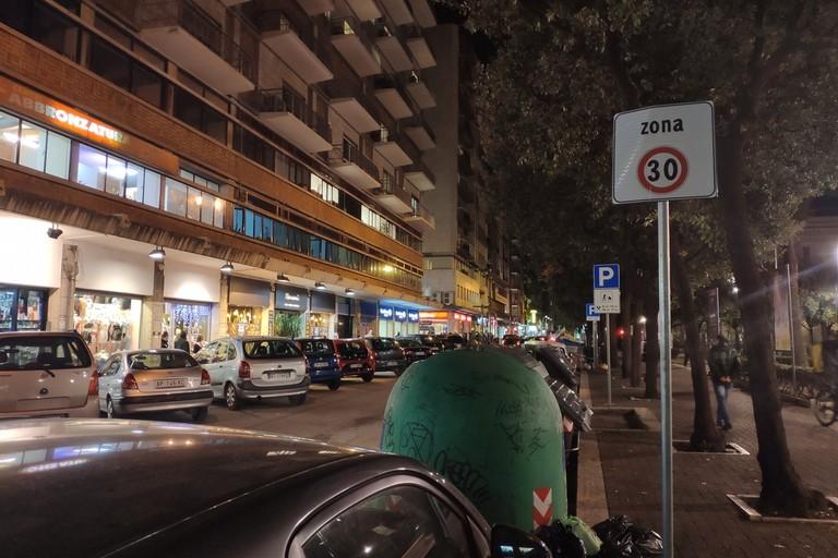 Una zona 30 in centro a Bari
