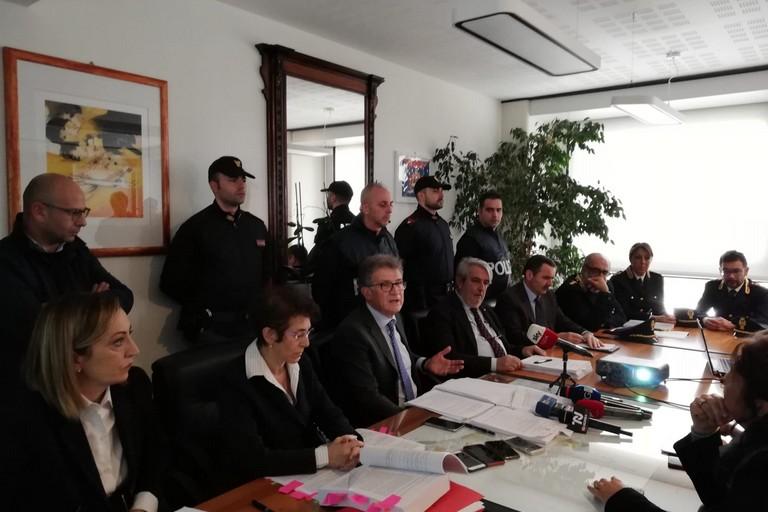La conferenza sull'operazione Drill a Bari