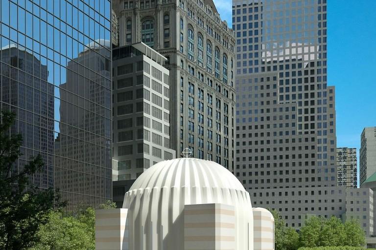 La chiesa di Manhattan
