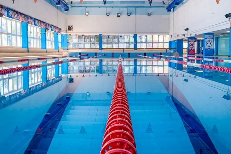 La piscina dello Stadio del nuoto