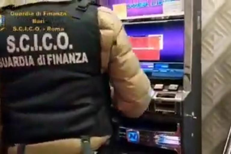 L'operazione Gaming Machine a Bari