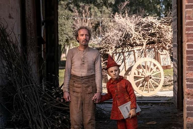 Benigni in Pinocchio