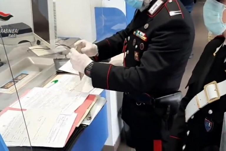 I carabinieri in posta