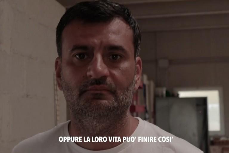 Antonio Decaro nello spot