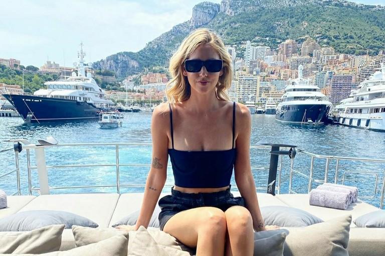 Chiara Ferragni a Montecarlo. <span>Foto Pagina Instagram Chiara Ferragni</span>