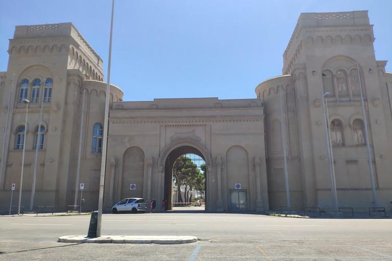 L'ingresso monumentale della Fiera del Levante
