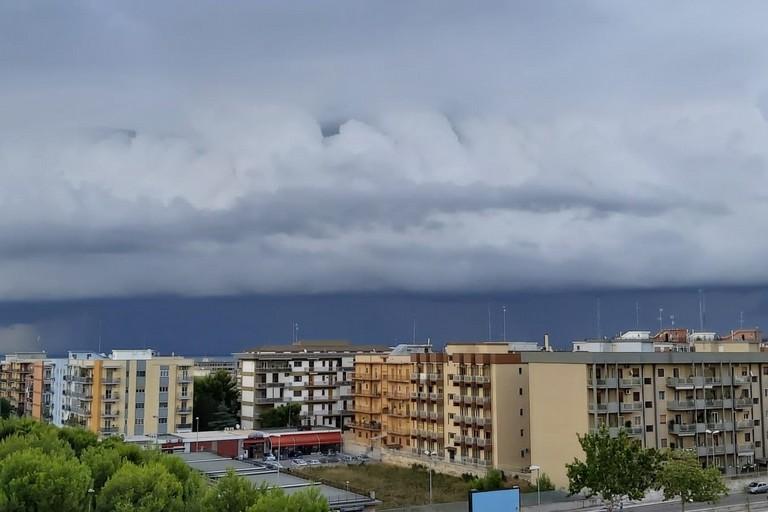 temporale in arrivo su Bari