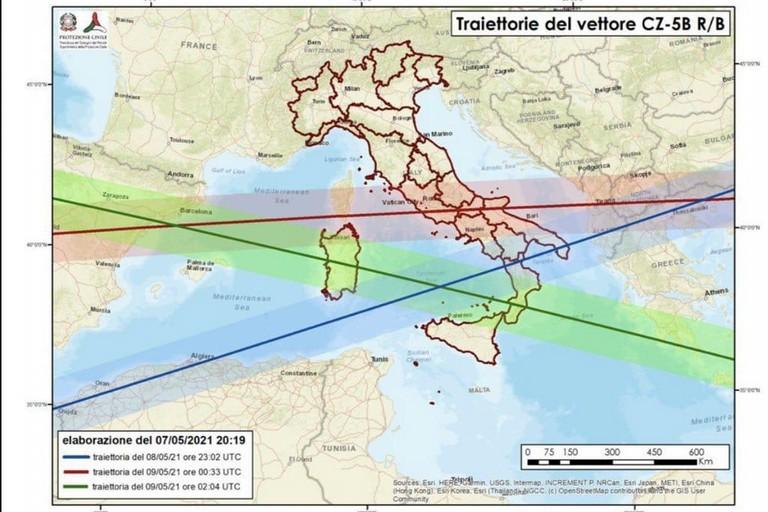 La mappa delle possibili traiettorie