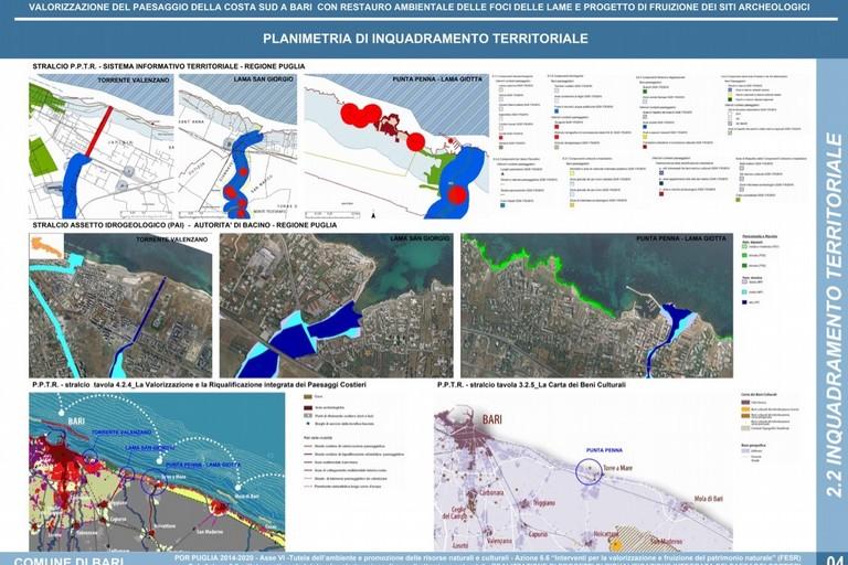 Progetto riqualificazione paesaggio costa sud