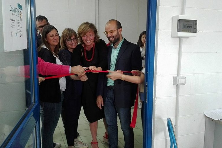 inaugurazione casa dellaffido nel municipio iv