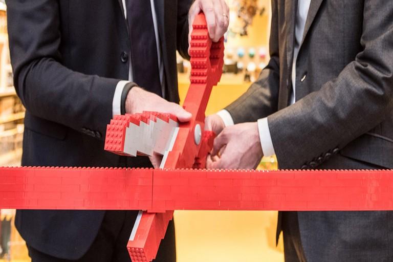 Inaugurazione Lego Store