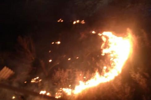 incendio lama giotta