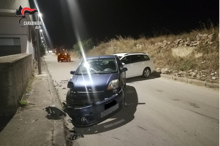 incidente corsa velocita gravina