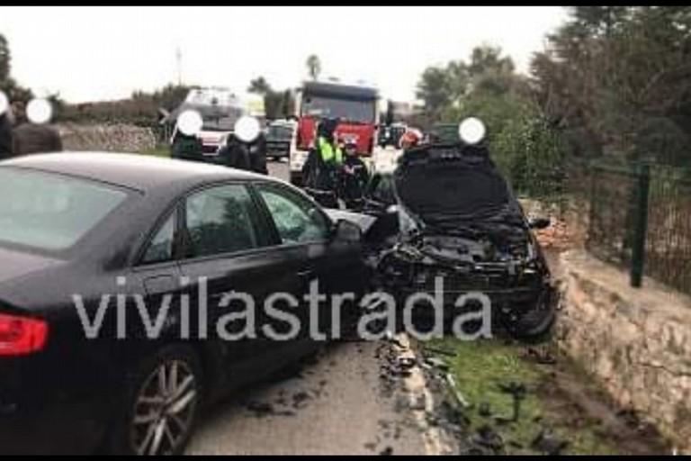 incidente mortale castellana. <span>Foto Vivi la strada </span>