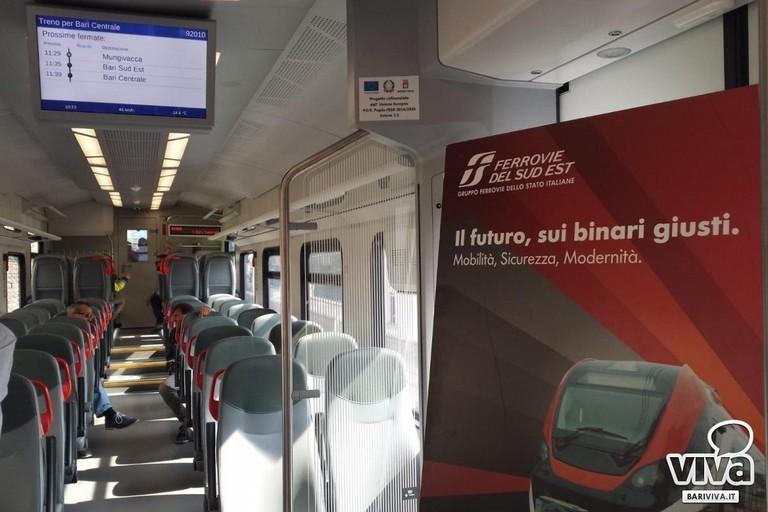 interni treno elettrico
