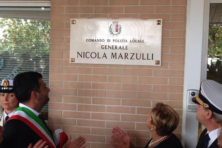 intitolazione comando pl a nicola marzulli (Foto Riccardo Resta)