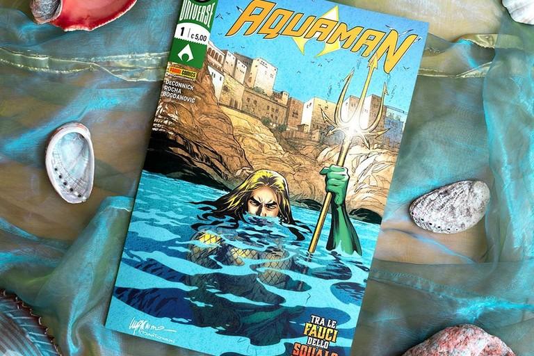 La copertina a Polignano. <span>Foto Pagina Facebook Panini DC Italia</span>