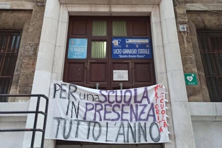 La protesta a scuola