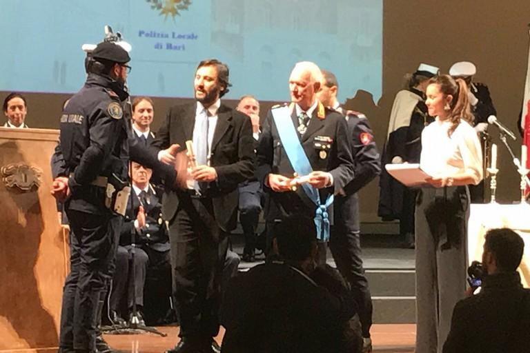 Cerimonia polizia locale