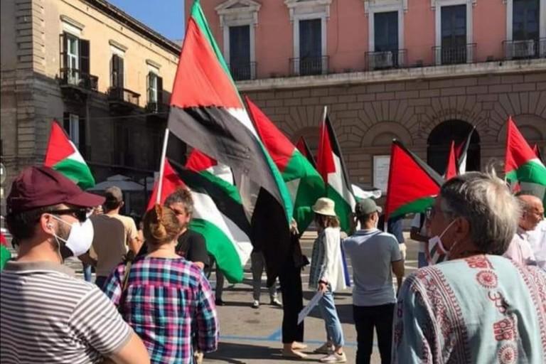 manifestazione palestina
