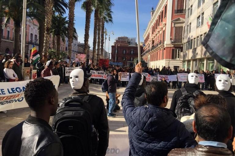 Manifestazione Sprar