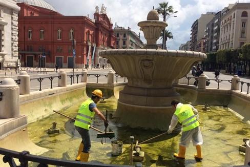 Bari al via gli interventi di manutenzione delle fontane - Interventi di manutenzione ...