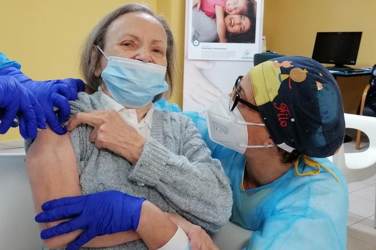 maria caldarulo seconda dose vaccino