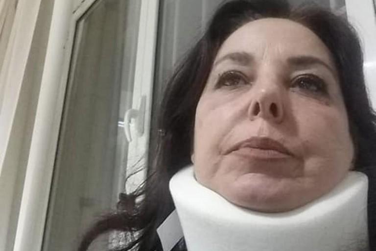 Maria Grazia Mazzola dopo laggressione