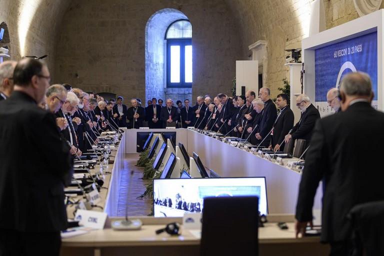 mediterraneo frontiera di pace. <span>Foto conferenza episcopale italiana</span>