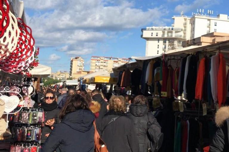 mercato via Salvemini
