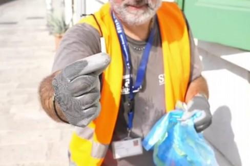 L'analisi littering in corso a Bari
