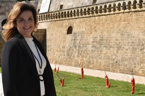 Annalisa Saracino, primo punto lo sport