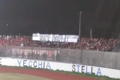 "Una  ""invasione "" di tifosi del Bari a Bisceglie"