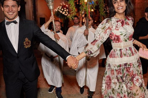 Dolce&Gabbana alla festa di San Nicola