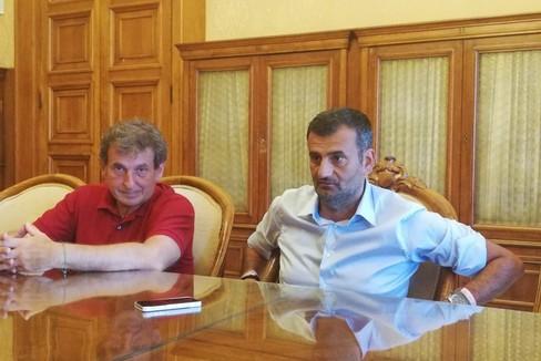 L'insediamento di Eugenio Di Sciascio come vicesindaco di Bari