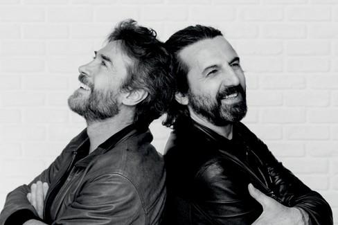 Alessio Boni ed Omar Pedrini