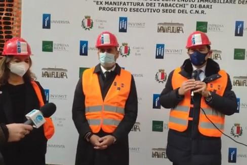 L'apertura del cantiere per il CNR nella ex Manifattura Tabacchi