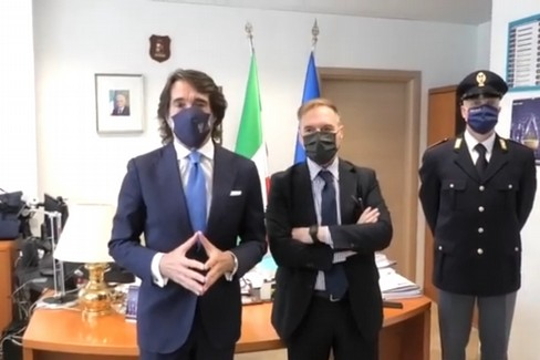 Operazione antimafia a Bari, le dichiarazioni del prefetto Messina