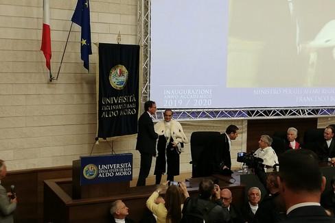 Inaugurazione anno accademico UniBa, il commento di Bronzini