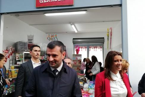 Apertura nuovo mercato coperto di via Amendola