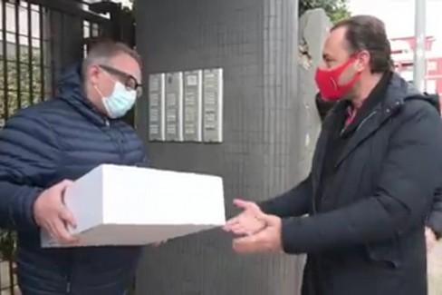 """""""LDL challenge """", firmate le 4200 gift box per i tifosi biancorossi che hanno rinunciato al rimborso"""