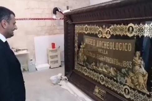 Quasi conclusi i lavori nel museo archeologico di Bari