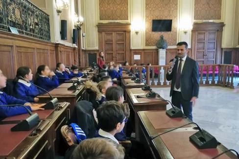 presentato il servizio del Rotary club Bari Ovest e nella scuola Corridoni