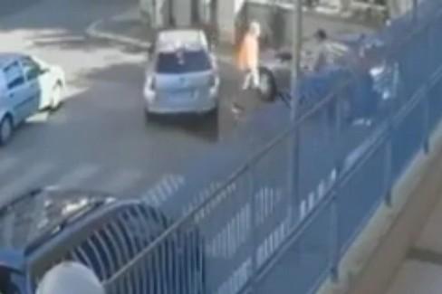 La rapina in via Trisorio