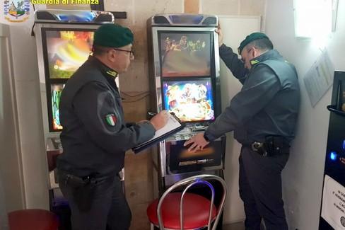 Operazione anti gioco d'azzardo della Gdf